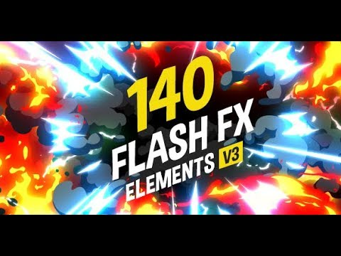 140 Flash FX Elements (Videohive After Effects Templates)
