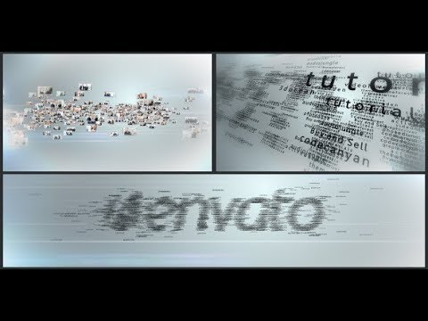 Multi Video & Multi Text Logo Formation (Videohive After Effects Templates)
