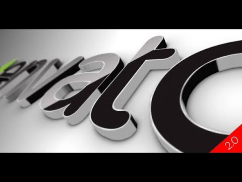 Black Classic 3D Logo (Videohive After Effects Templates)