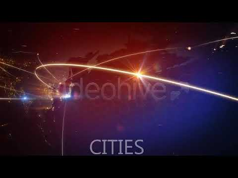 World Map Animation (Videohive After Effects Templates)