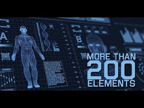 Sci-fi Interface HUD Package (Videohive After Effects Templates)