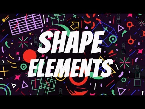 Shape Elements (Videohive After Effects Templates)