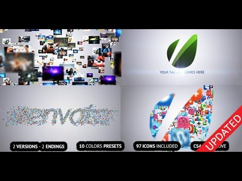 Flying Through Images Logo Reveal (Videohive After Effects Templates)