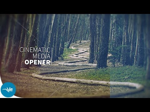 Cinematic Media Opener (Videohive After Effects Templates)