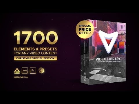 Video Library – Video Presets Package (Videohive After Effects Templates)