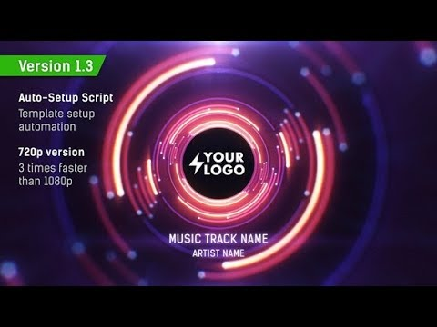 Audio React Tunnel Music Visualizer (Videohive After Effects Templates)