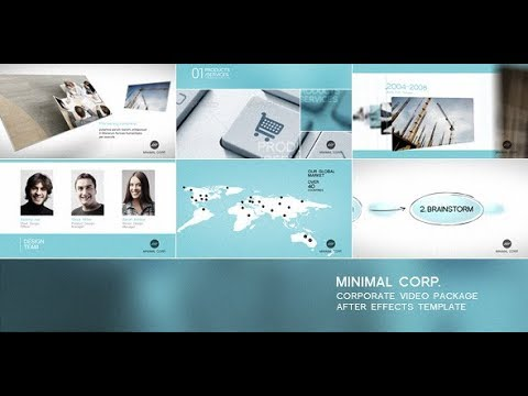 Minimal Corp – Corporate Video Package (Videohive After Effects Templates)
