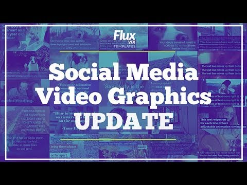 Social Media Video Graphics Pack (Videohive After Effects Templates)