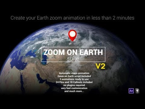 Zoom On Earth Suite (Videohive After Effects Templates)