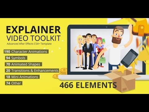 Explainer Video Toolkit (Videohive After Effects Templates)