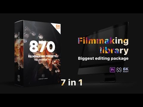 Filmmaking Library – Biggest Editing Package (Videohive After Effects Templates)