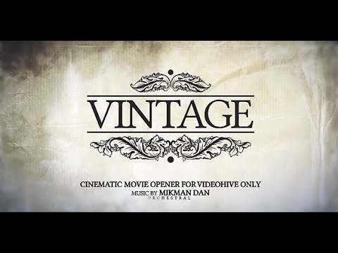 Vintage Opener (Videohive After Effects Templates)