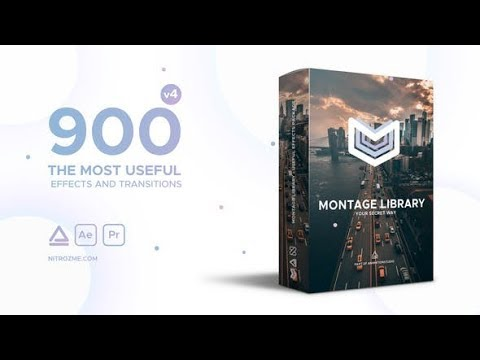 Montage Library – Most Useful Effects (Videohive After Effects Templates)