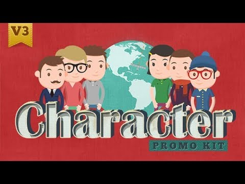 Character Promo Kit (Videohive After Effects Templates)