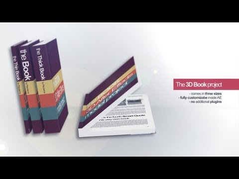eBook Promo Project. Marketing Video (Videohive After Effects Templates)