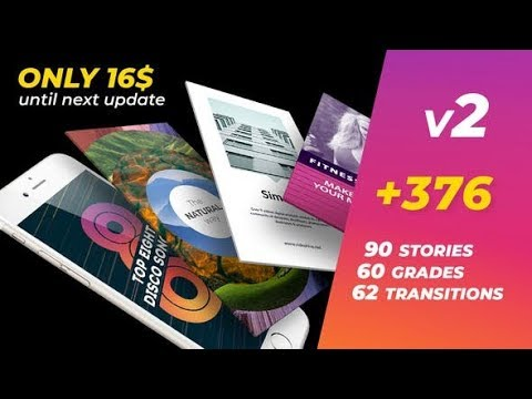 Instagram Stories Bundle (Videohive After Effects Templates)
