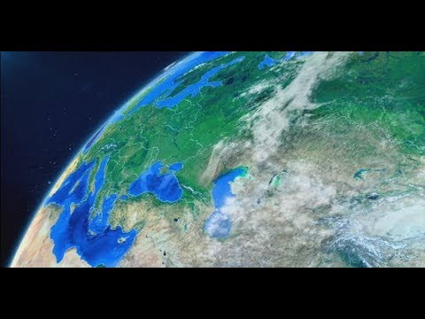 World Map Earth Zoom (Videohive After Effects Templates)