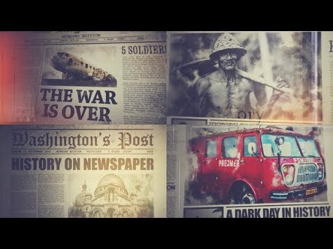 History On Newspaper (Videohive After Effects Templates)