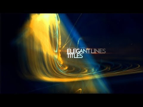 Elegant Lines Titles (Videohive After Effects Templates)
