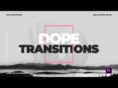 Dope Transitions   For Premiere Pro (Videohive After Effects Templates)
