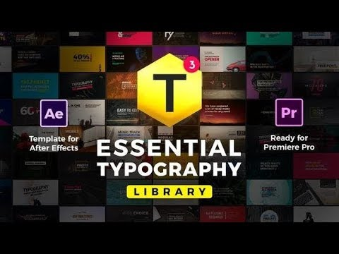 Essential Titles and Lower Thirds (Videohive After Effects Templates)