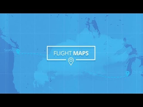 Flight Maps – Visualize Where You're Travelling (Videohive After Effects Templates)