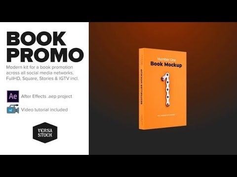 Book Social Media Promo Kit (Videohive After Effects Templates)