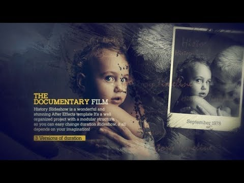 The Documentary – History Slideshow (Videohive After Effects Templates)