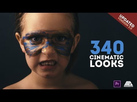 Cinematic Looks and Color Correction Pack – Premiere (Videohive Premiere Pro Templates)