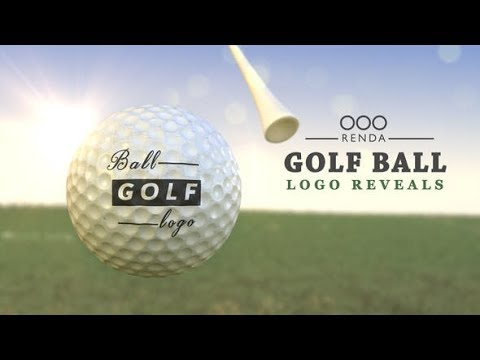 Golf Ball Logo (Videohive After Effects Templates)