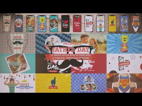 Father's Day Package (Videohive After Effects Templates)