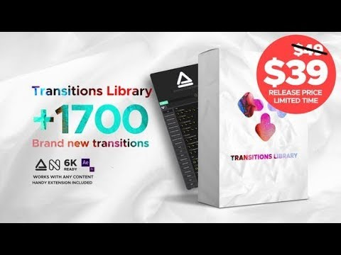 Transitions Library – Brand New Transitions (Videohive After Effects Templates)
