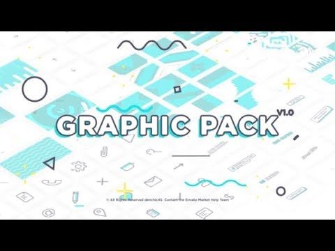 Flat Graphic Pack (Videohive After Effects Templates)