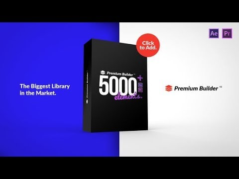 PremiumBuilder Motion Pack (Videohive After Effects Templates)