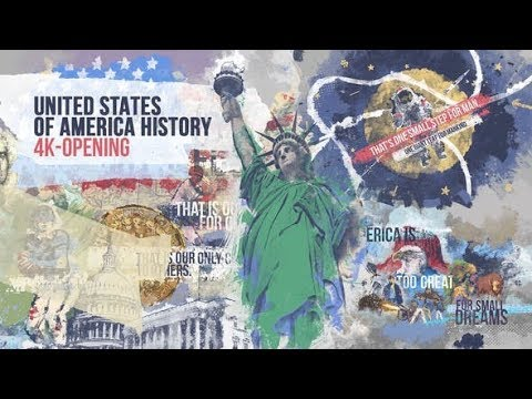 United States of America History 4K Opening (Videohive After Effects Templates)