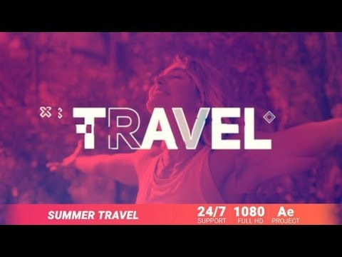 Summer Travel (Videohive After Effects Templates)