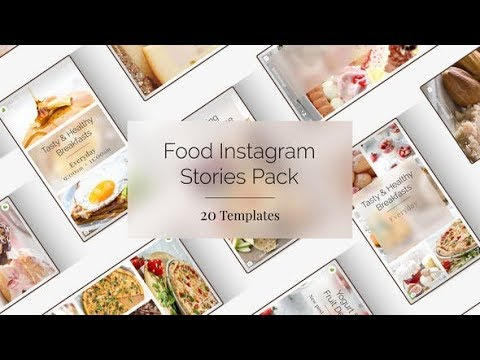 Food Instagram Stories (Videohive After Effects Templates)