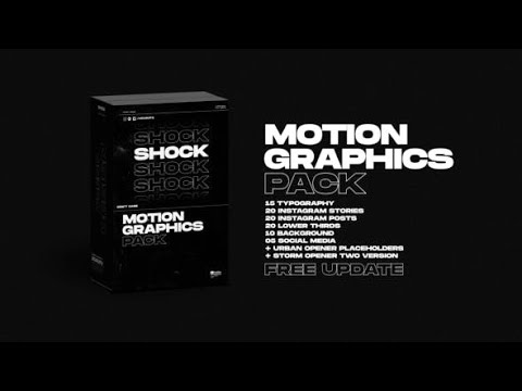 Shock. Motion graphics Pack (Videohive After Effects Templates)
